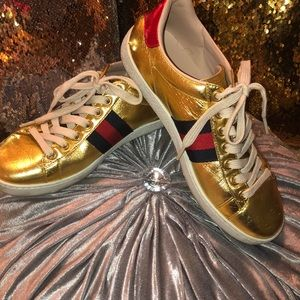 Gucci Blind for Love sneaker EUC Sz 36 fits US 7